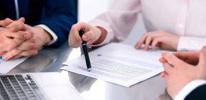договор на подписи